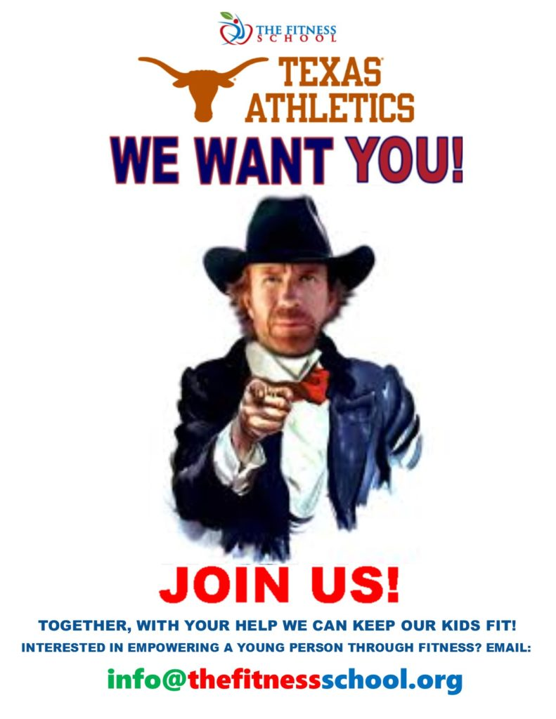University of Texas Internship | The Fitness School