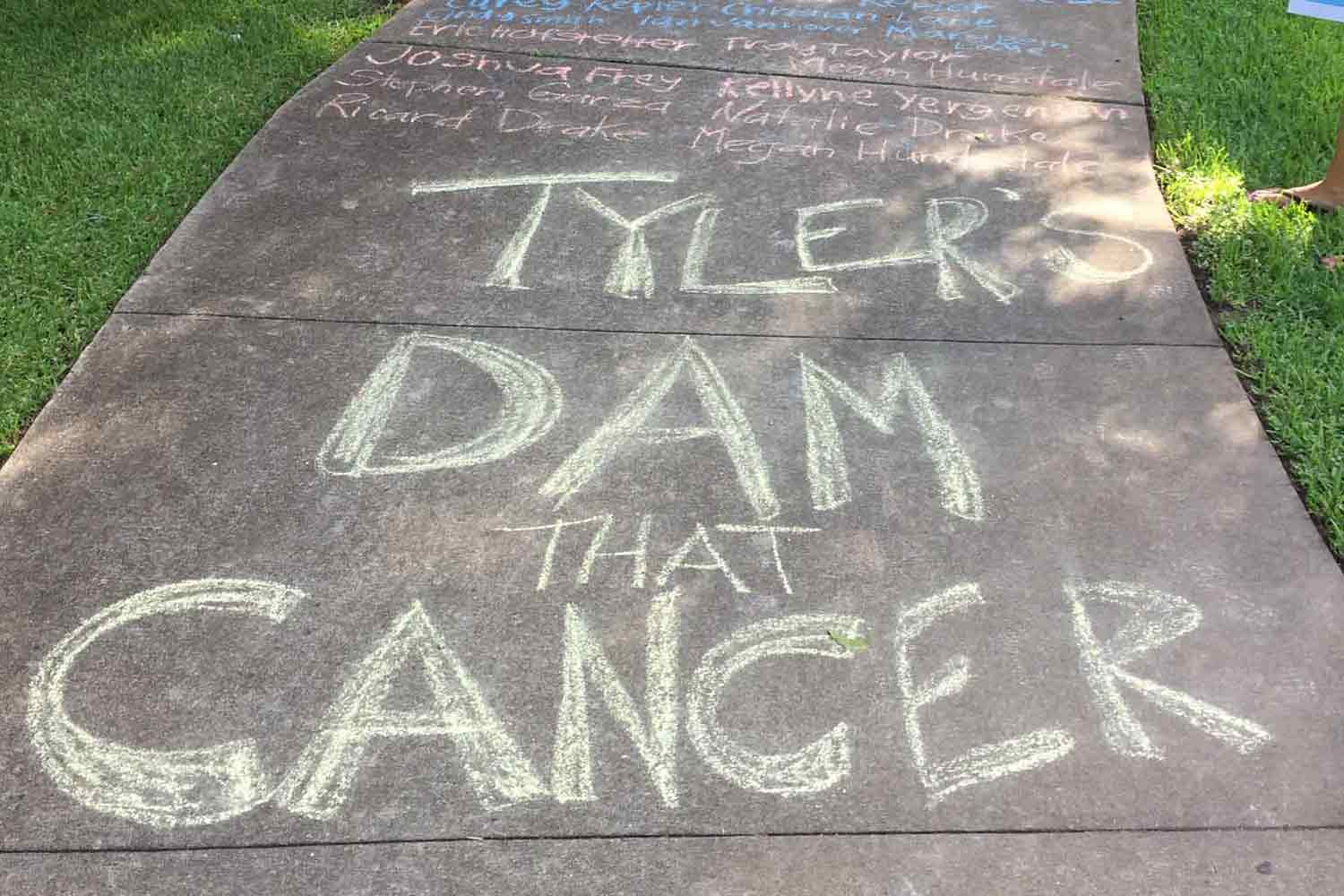 Tyler's Dam that Cancer | The Oldham Group