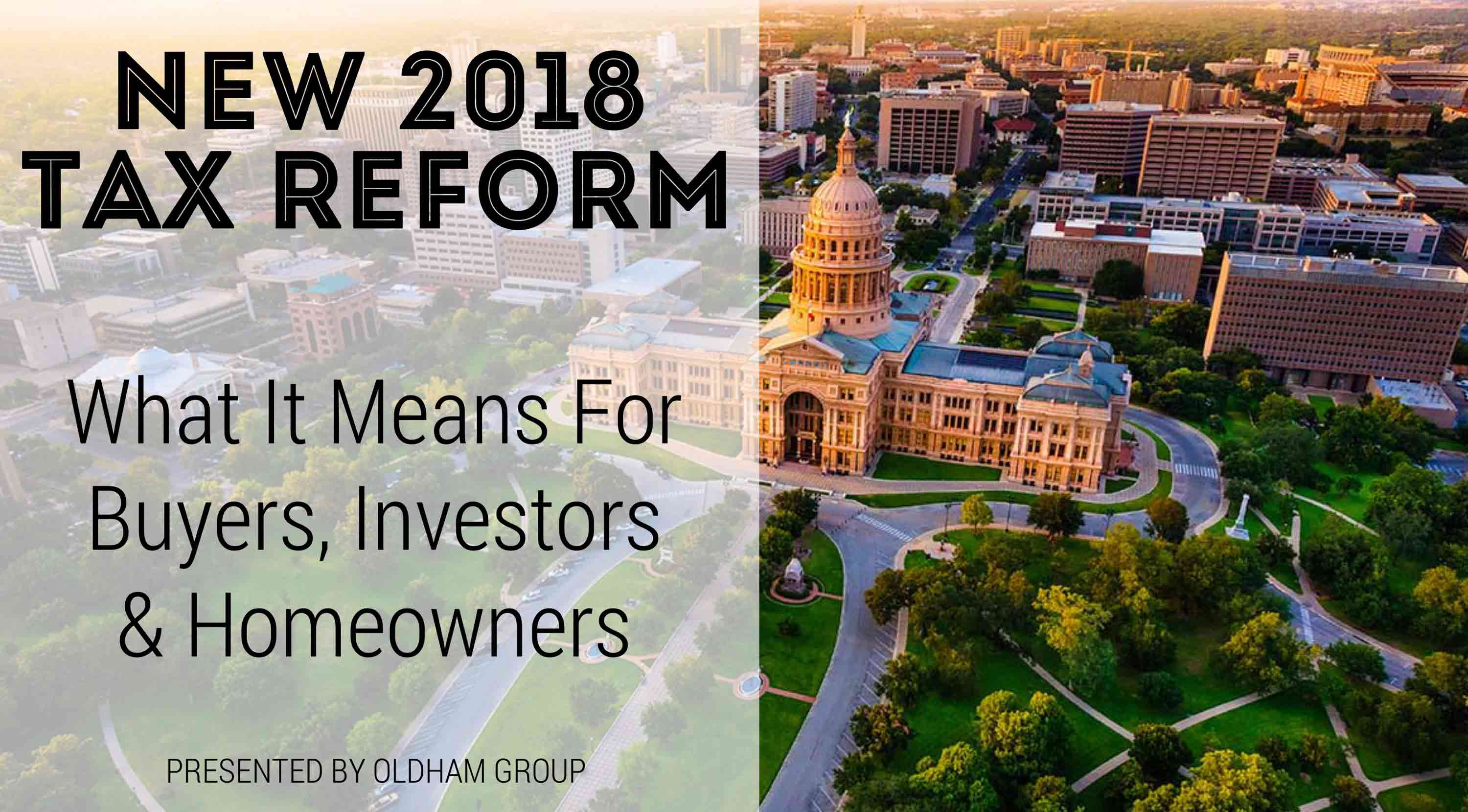 Buyer & Investor Social: Tax Reform and New Investment Opportunities