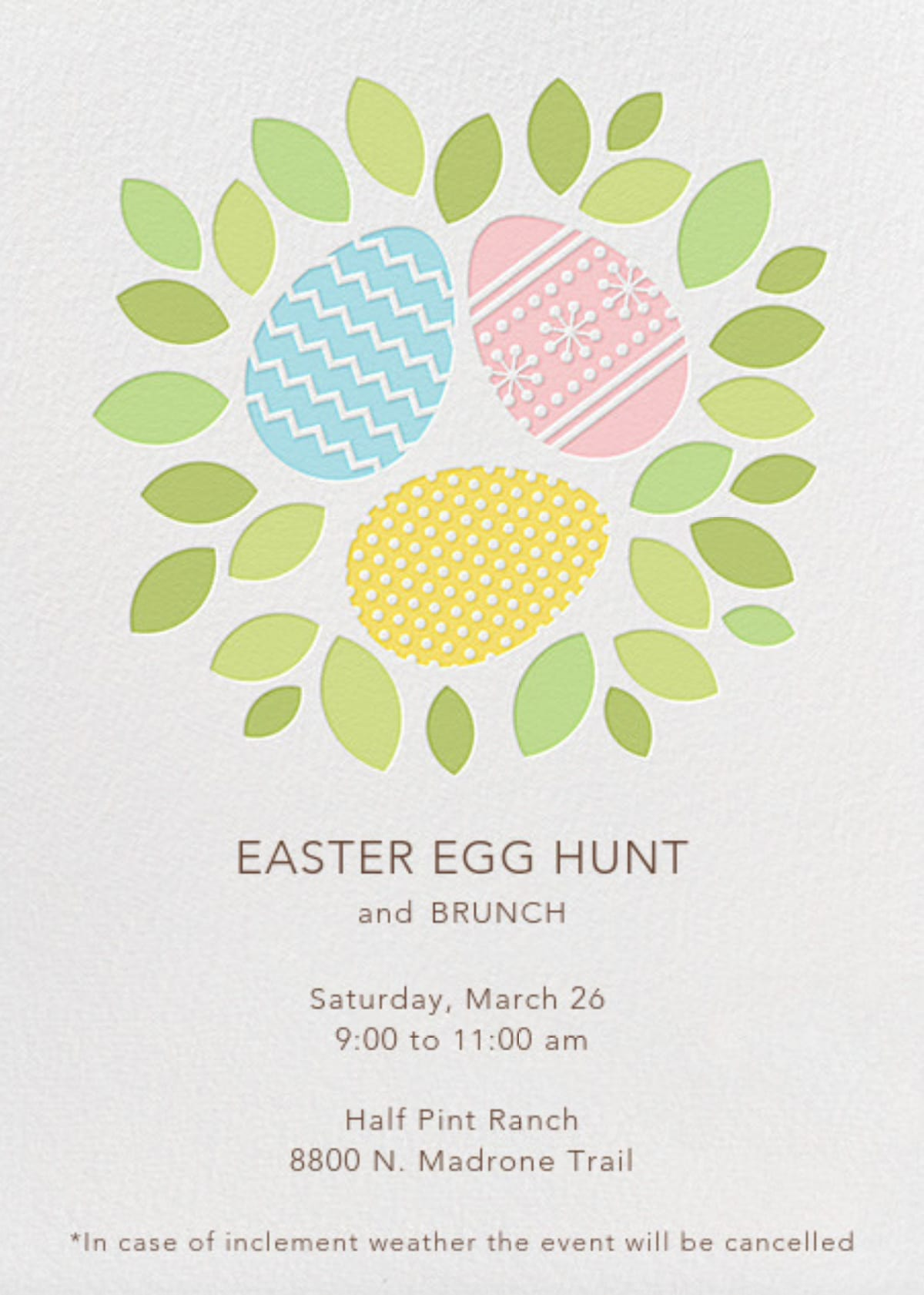 Easter Egg Hunt - March 26th - Half Pint Ranch, 8800 North Madrone Trail, Austin, Texas