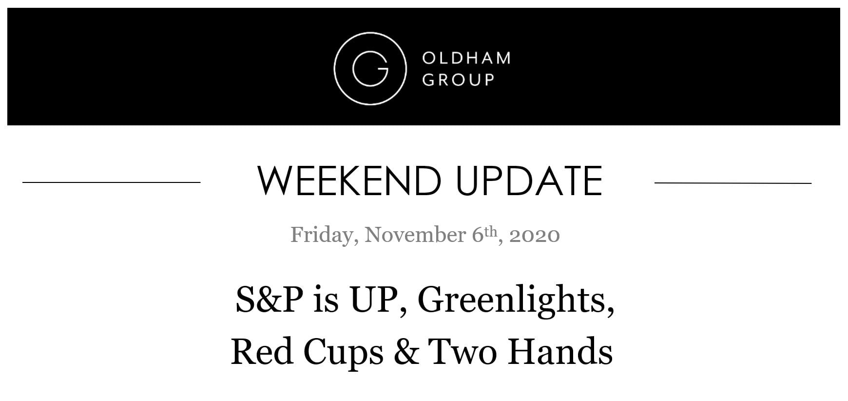 The Oldham Group   Updates November 9, 2020
